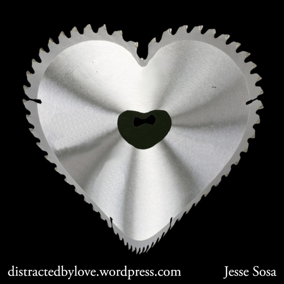 Chainsaw heart
