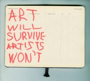 art will survive